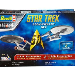 Revell 05721 STAR TREK GIFT SET (include 2 modelli)