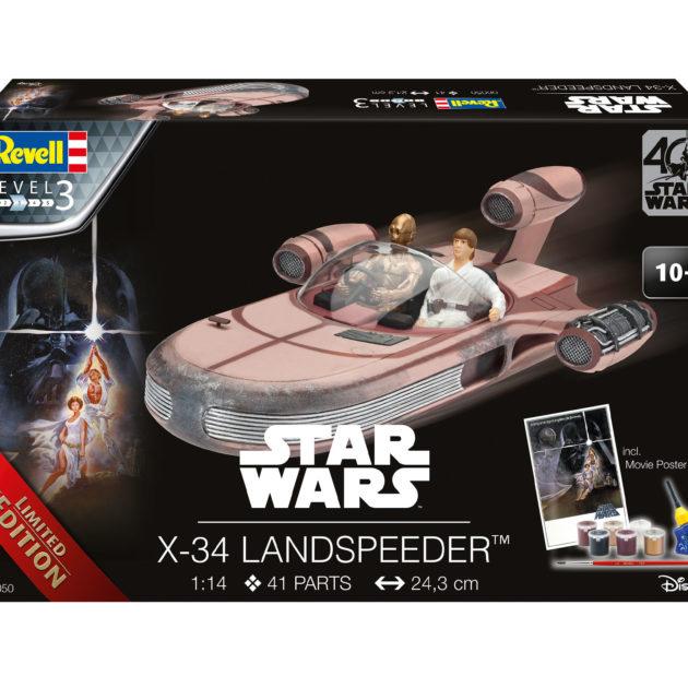 Revell 06050 1/14 GIFT SETS X-34 LANDSPEEDER (LTD. EDI Modellismo