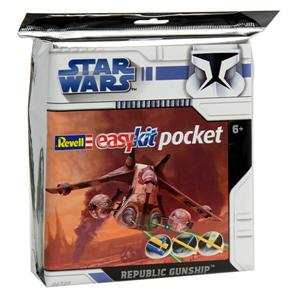 "Revell 06729 REPUBLIC GUNSHIP ""POCKET""   Modellismo"