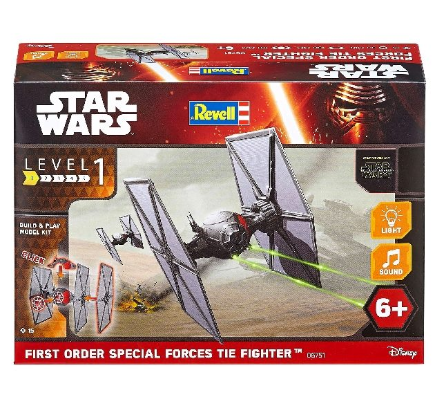 Revell 06751 1/51 BUILD & PLAY POE'S TIE FIGHTER Modellismo