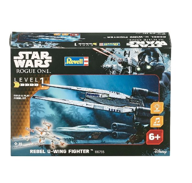 Revell 06755 1/100 BUILD & PLAY  REBEL U-WING FIGHTER  Modellismo