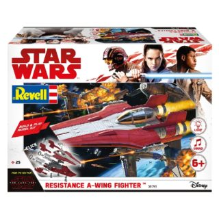 Revell 06759 BUILD & PLAY  RESISTANCE A-WING FIGHT. RED (STAR W. THE LAST JEDI)