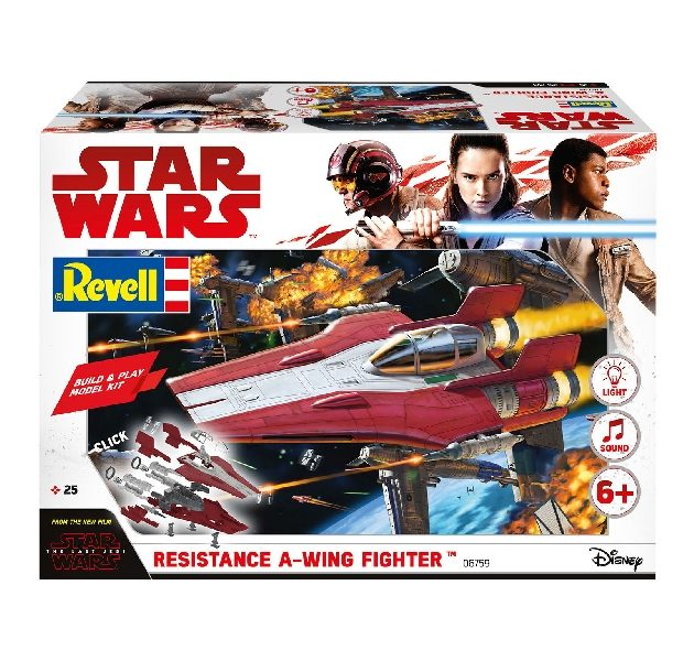 Revell 06759 BUILD & PLAY  RESISTANCE A-WING FIGHT. RE Modellismo