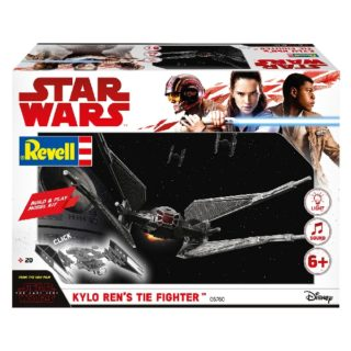 Revell 06760 BUILD & PLAY KYLO REN's TIE FIGHTER (STAR WARS THE LAST JEDI)