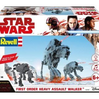 Revell 06761 BUILD & PLAY FIRST OR. HEAVY ASSAU. WALKER (STAR W. THE LAST JEDI)