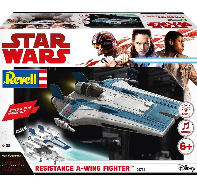 Revell 06762 BUILD & PLAY  RESISTANCE A-WING FIGHT. BL Modellismo