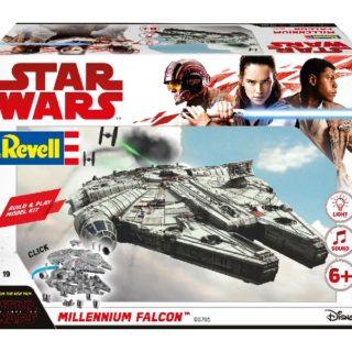 Revell 06765 BUILD & PLAY MILLENIUM FALCON (STAR WARS THE LAST JEDI)