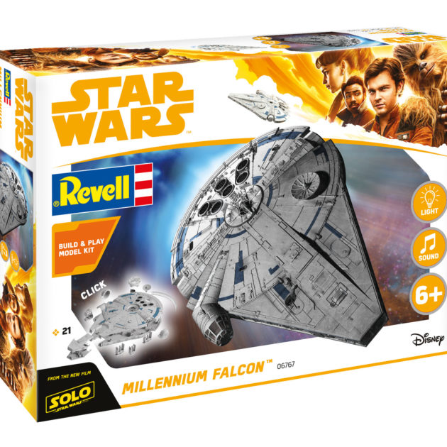 Revell 06767 1/164 Build & Play  Millenium Falcon (Han Modellismo