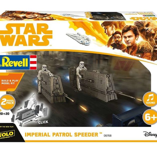 Revell 06768 1/28  Build & Play  Imperial Patrol Speed Modellismo
