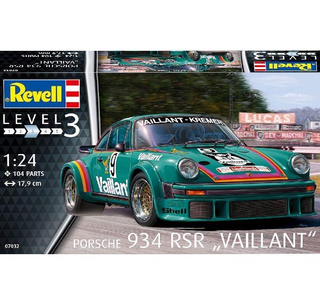 "Revell 07032 PORSCHE 934 RSR ""VAILLANT"""