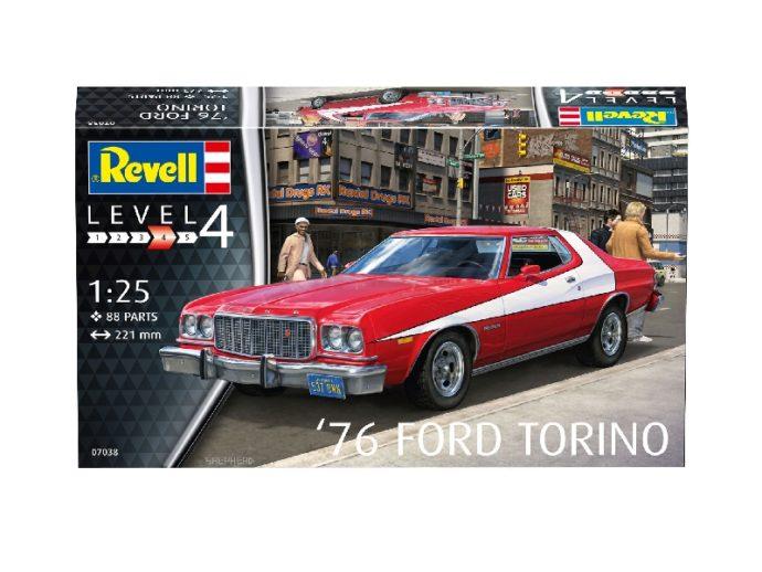 Revell 07038 '76 FORD TORINO
