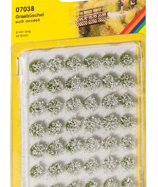 Noch 07038 Ciuffi verde misto 6mm Modellismo