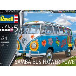 """Revell 07050 VW T1 SAMBA BUS """"FLOWER POWER"""""""