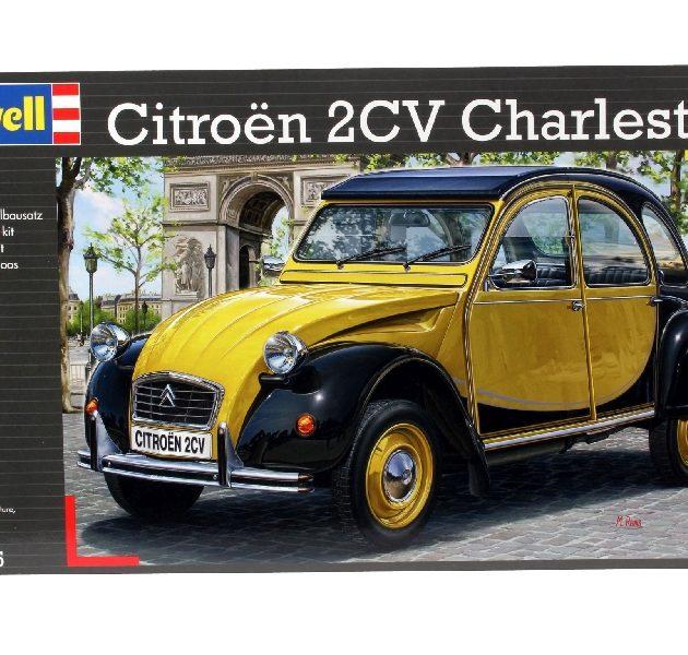 REVELL 07095 Citroen 2CV Charleston