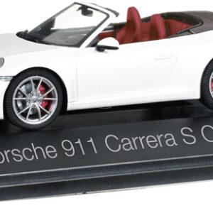 Herpa 070980 Porsche 911 Carrera S Cabriolet 991 II