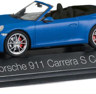 Herpa 070997 Porsche 911 Carrera S Cabriolet 991 II