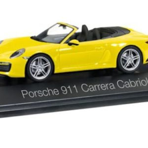 Herpa 071024 Porsche 911 Carrera Cabriolet  991 II