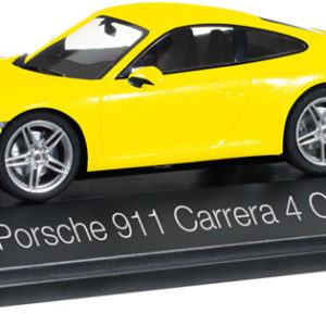 Herpa 071086 Porsche 911 Carrera 4 Coupé