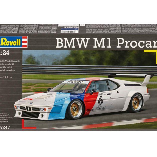 REVELL 07247 BMW M1 PROCAR