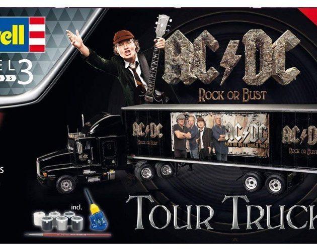 Revell 07453 Gift Set Truck & Trailer AC/DC