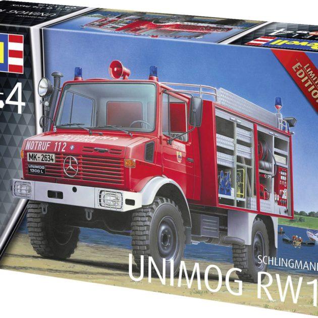 Revell 07531 Schlingmann Unimog RW1