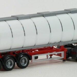 Herpa 075619-002 Cisterna  Jumbo 3 assi telaio rosso Modellismo