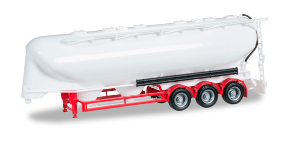 Herpa 075909-002 cisterna - chassis rosso Modellismo
