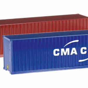 Herpa 076449-004 Set 2 container  40' CMA/CGM Modellismo