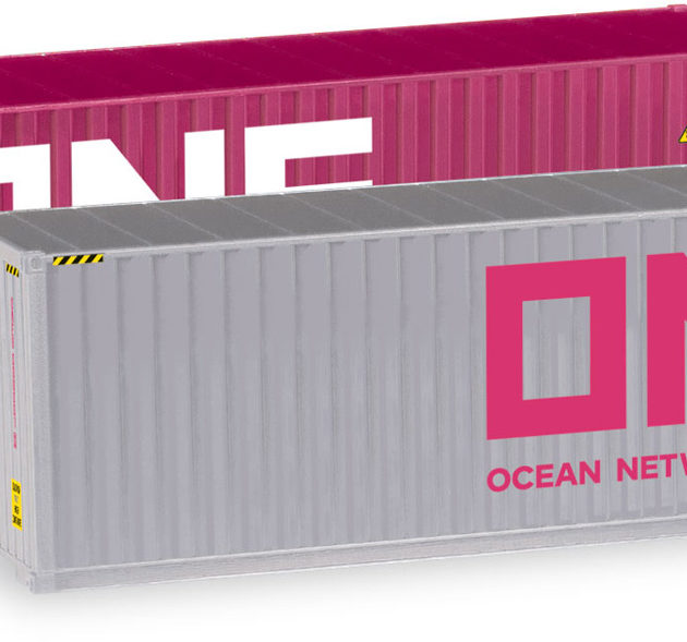 Herpa 076449-005 Set 2 container  40' ONE/ONE Modellismo