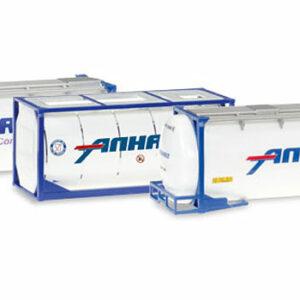 Herpa 076500-004 3 Container cisterna Modellismo