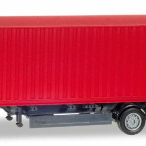 """Herpa 076791 Rimorchio container """"CAI"""" Modellismo"""