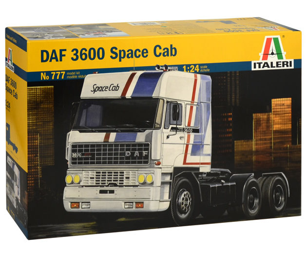 Italeri 0777 DAF 3600 SPACE