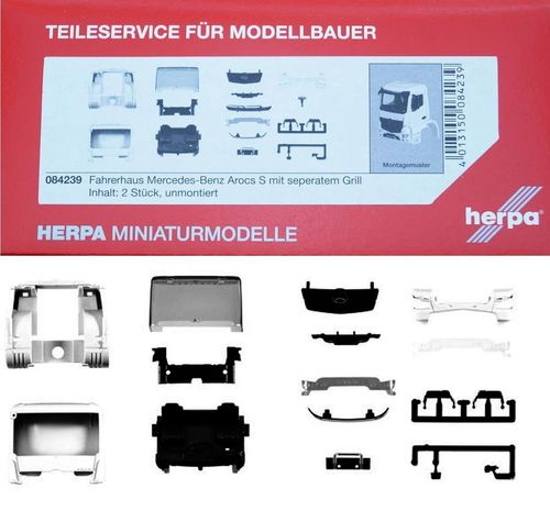Herpa 084239 Cabina motrice FH Mercedes Benz Arocs S Modellismo