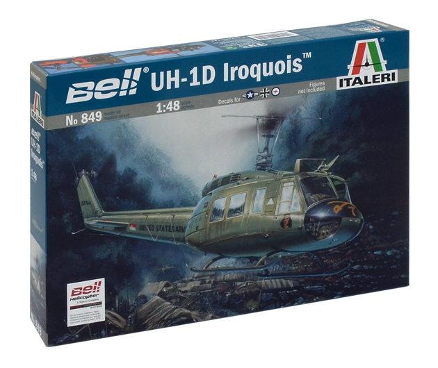 """ITALERI 0849 Uh - 1d """"Slick"""" Modellismo"""