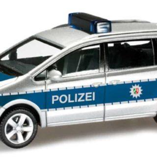 Herpa 090551 VW Sharan Polizia