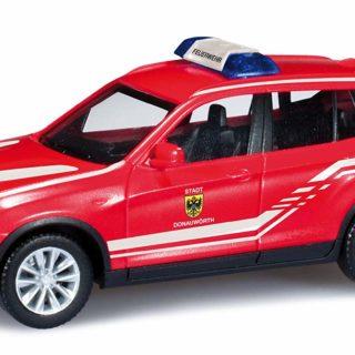 """Herpa 090964 BMW X3 """"pompieri"""""""