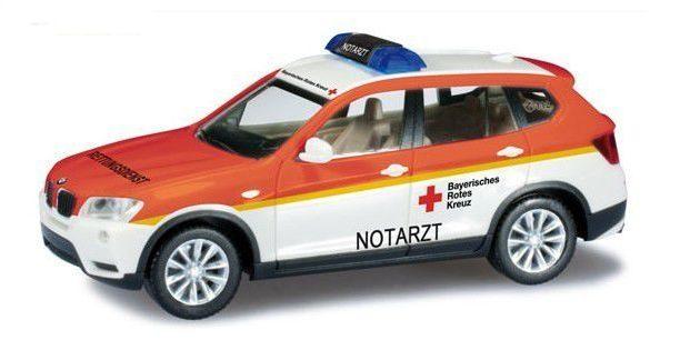 "Herpa 090971 BMW X3 ""Croce rossa bavarese"""