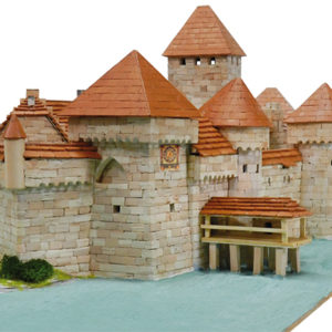 Aedes 1012 Castello di Chillon in mattoncini terraco Modellismo
