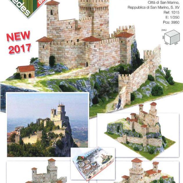 AEDES 1015 Rocca Guaita (Prima torre) Modellismo