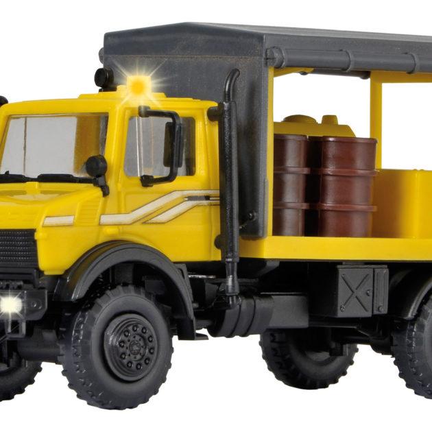 Kibri 10770 Unimog trasporto liquidi con luci