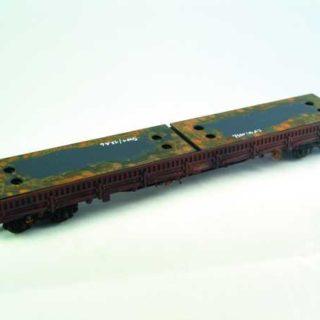 Ladeguter-Bauer 1125 Lamiere arrugginite e sporcate per carri