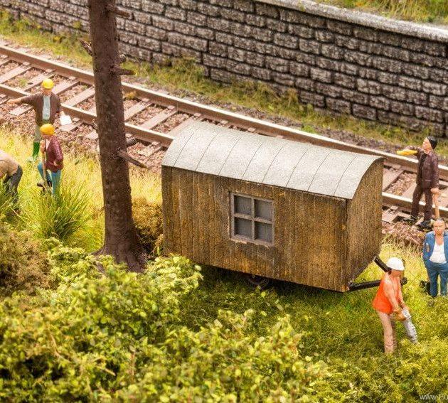 Noch 12010 Carrozzone mobile muratori Modellismo