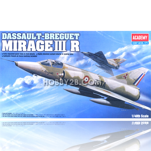 Academy 12248  MIRAGE III R FIGHTER