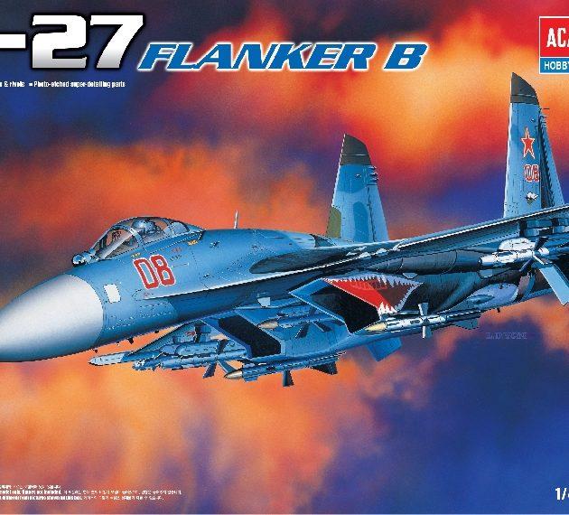 Academy 12270  SUKHOI SU-27 FLANKER B