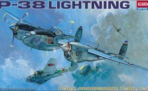 Academy 12282 P-38 J/L/Droop Snoot/F5E