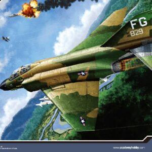 ACADEMY 12294 F - 4c Vietnam War