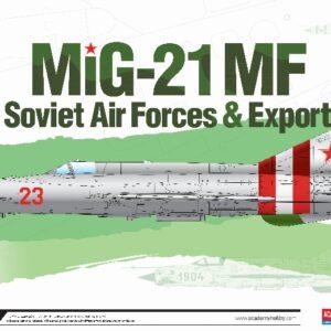 Academy 12311 MIG 21 MF SOVIET AIRFORCE & EXPORT