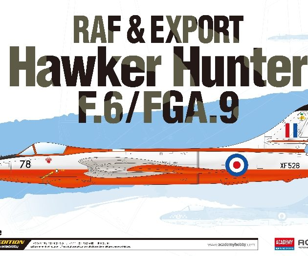 Academy 12312 HAWKER HUNTER F.6 / FGA.9