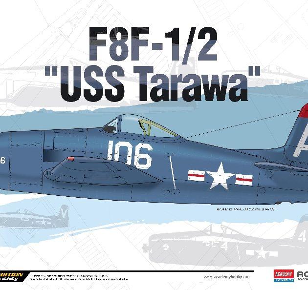 Academy 12313  F8F-1/2 USS TARAWA