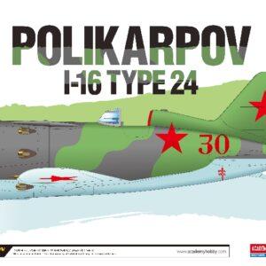 Academy 12314  POLIKARPOV I-16 TYPE 24